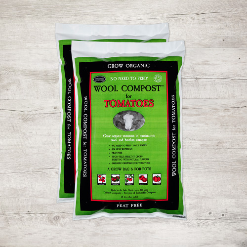 Peat Free Wool Compost for Tomatoes