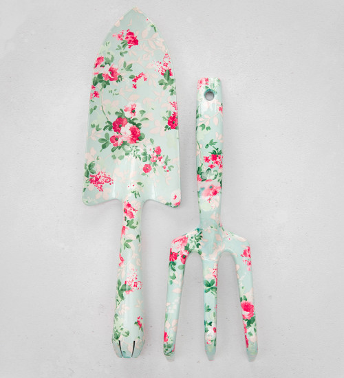 Floral Print Hand Tools