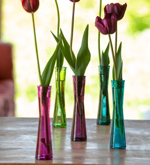 Gemstone Vase Collection