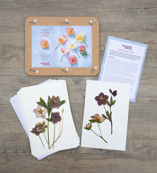 Sarah Raven Giant Flower Press
