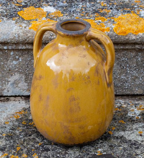 Ceramic Jar with Handles