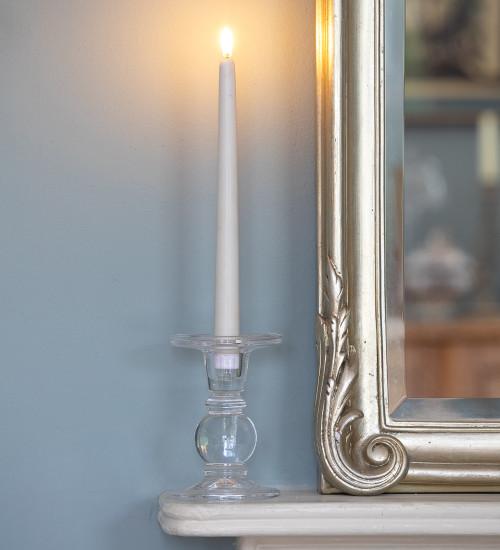 Glass Candlesticks