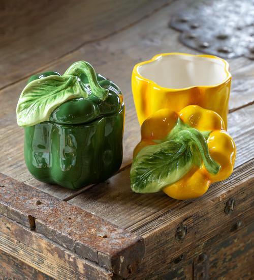 Pepper Ceramic Pot