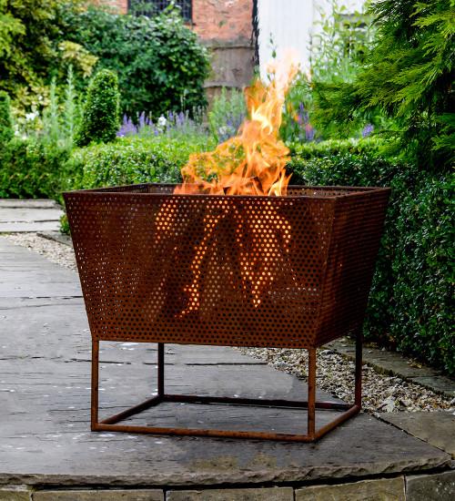 Rust Iron Outdoor Firebowl