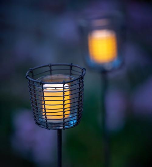 Garden Tealight Stakes