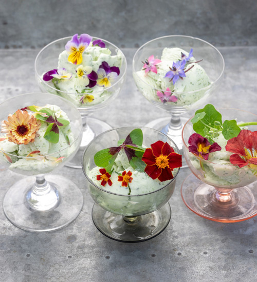 Summer Edible Flowers Collection