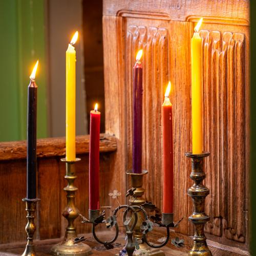 Persian Carpet Dinner Candle Set