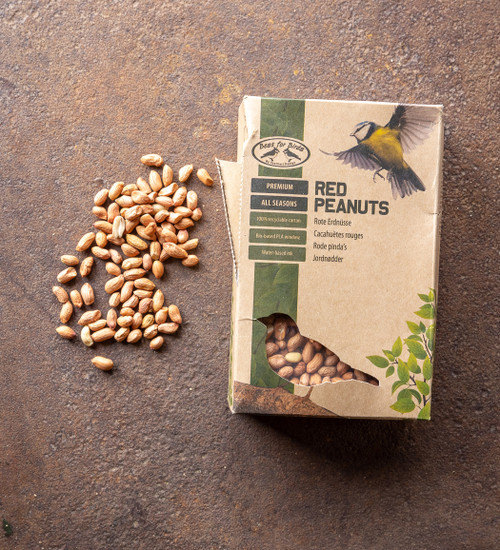 Red Shelled Peanuts