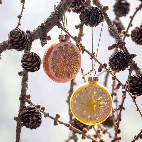 Orange and Lemon Slice Baubles