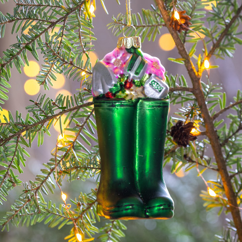 Welly Boots Bauble