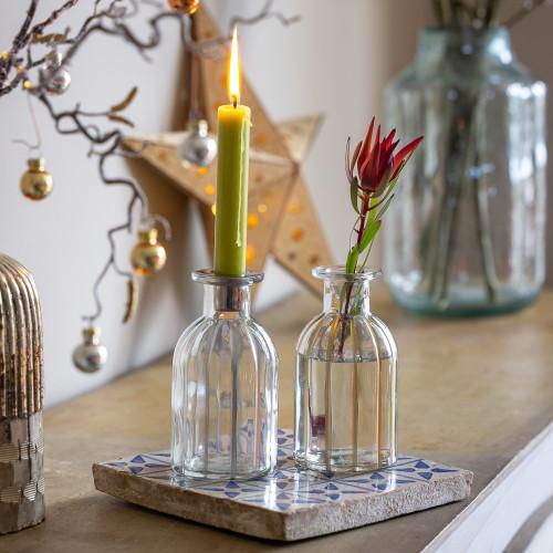 2 in 1 Candleholder and Vase Set