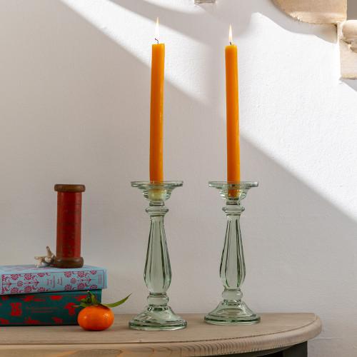 Glass Candlestick Tilbury