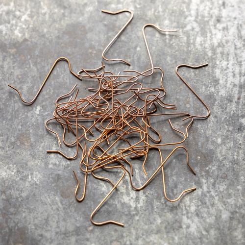 Copper Bauble Hangers
