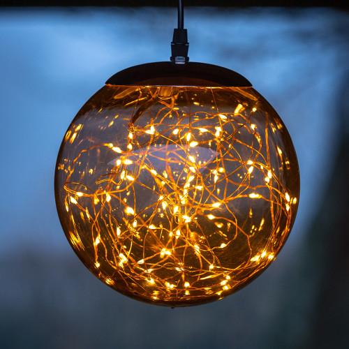 Micro LED Hanging Globe