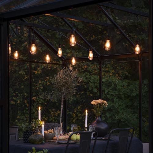 Opulent Festoon Lights Filament Bulb Style
