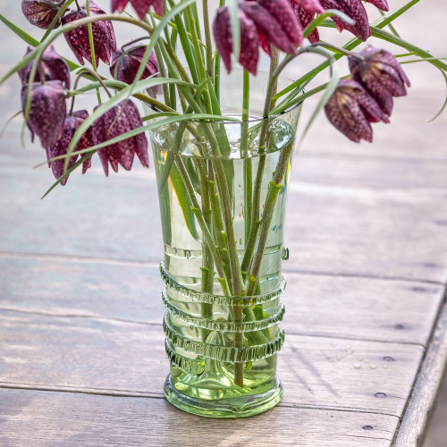 Venetian Style Decorative Glass Vase