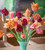 Plum and Apricot Tulip Mix in a Gift Box (45 Bulbs)