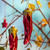 Glass Chilli Decoration