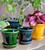 Blue Copenhagen Pot and Saucer Set