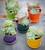 Mini Succulent Pots and Saucers