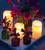 Outdoor Glow Pillar Candle