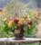 Chrysanthemum 'Bigoudi Red'
