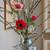 Clip on Vintage Glass Vase Set