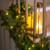 Pine Garland with Lights