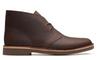 Clarks Men's Bushacre 2 Dark Brown Leather