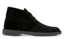 Clarks Men's Bushacre 2 Black Suede