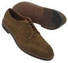 Alden Men's Long Wing Blucher Snuff Suede #9794