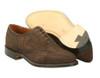 Alden  Wing Tip Bal Dress oxford mocha brown suede