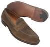 Alden Penny Loafer Dark Brown Suede #9697F