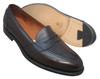 Alden Full Strap Slip-On Burnished Brown Calfskin #686