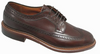 Alden Long Wing Blucher Dark Brown Calfskin  # 976