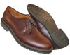 Alden Plain Toe Blucher Brown Aniline #9432S