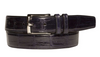 Mezlan Blue Genuine Alligator Belt