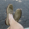 Alden Penny Loafer with Unlined Vamp Tan Suede #6244F