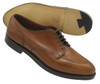 Alden -Men's Norwegian Front Blucher with Handsewn Vamp & Toe Seam Burnished Tan #962