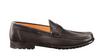 Santoni  Ascott Brown Leather Slip-On