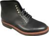 Alden Plain Toe Boot Black Calfskin #4515H