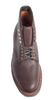 Alden Plain Toe Boot Dark Brown Calfskin #4513H