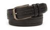 Mezlan Black Embossed Lizard Belt