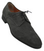 Santoni Grady Grey Suede Wing Oxford