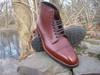 Alden Custom Style Cap Toe Boot with Commando Sole in Alpine Grain Calf