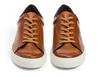 G.Brown Court Tan Calfskin Sneaker