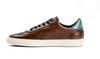 G.Brown Flight Brown Calfskin sneaker
