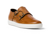 G.Brown Jaxon Double Monk Strap Almond Calfskin Sneaker
