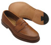 Alden Long Vamp Handsewn Burnished Tan Calfskin