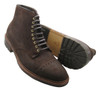 Alden Cap Toe Boot Reverse Tobacco Chamois Commando Sole